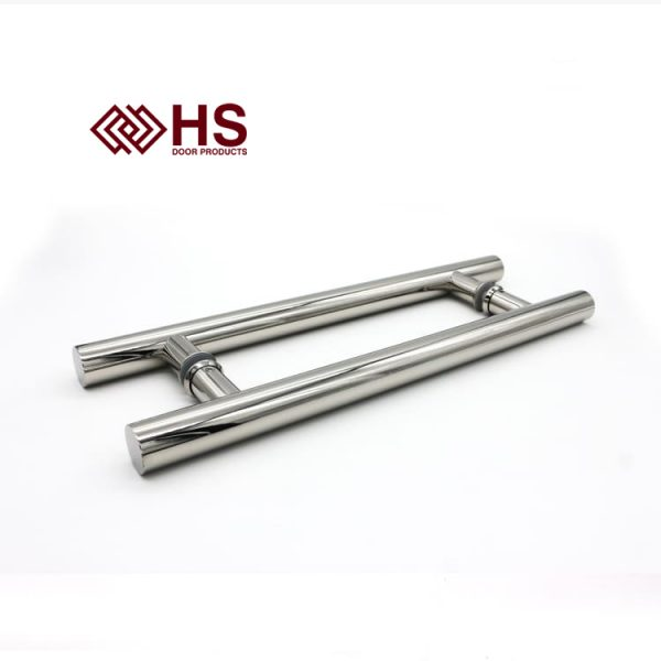 Long Pull Bar Handle Inline Composite Door - HS - 708 Inline Duo Finish - HS Products
