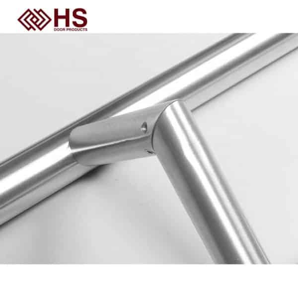 Long Pull Bar Handle Offset Composite Door - HS-708V OFFSET - HS Products