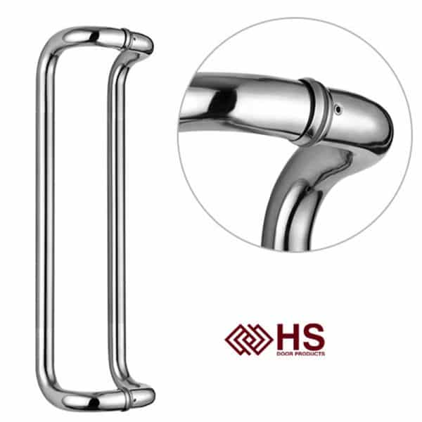 Long Pull Bar Handle Special Composite Door - HS-662 CURVED-U - HS Products